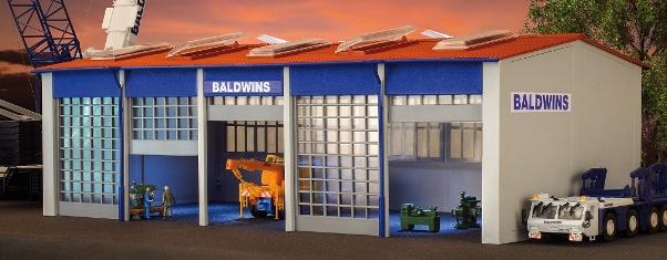 GALPON PARA CAMIONES BALDWINS