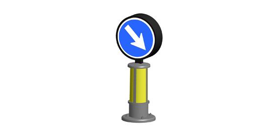 Indicador señal de transito