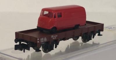 VAGON PLAYO DB EPOCA III C/VW T1 - RED