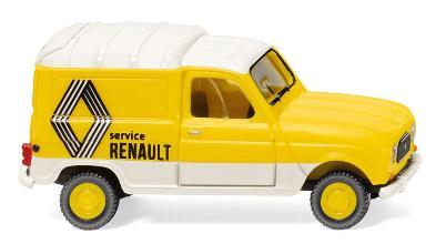 RENAULT R4 KASTEN SERVICE - YELLOW & WHITE
