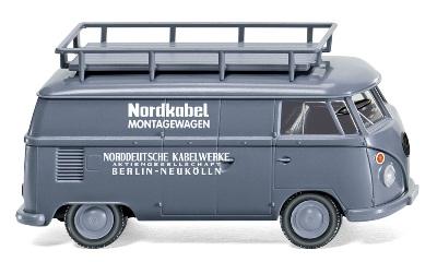 VOLKSWAGEN T1 KASTEN NORDKOBEL MONTAGEWAGEN - GREY